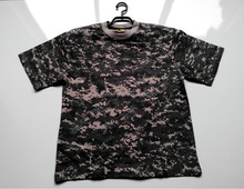 Wholesale 100% cotton digital urban multi color stocked O-neck short sleeve Tshirts