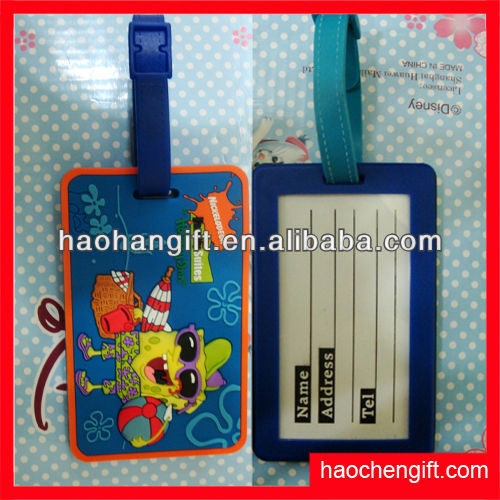 Plastic clear Luggage tag,Craft luggage tag,Make your own luggage tag for 2012 Promo gifts!!!