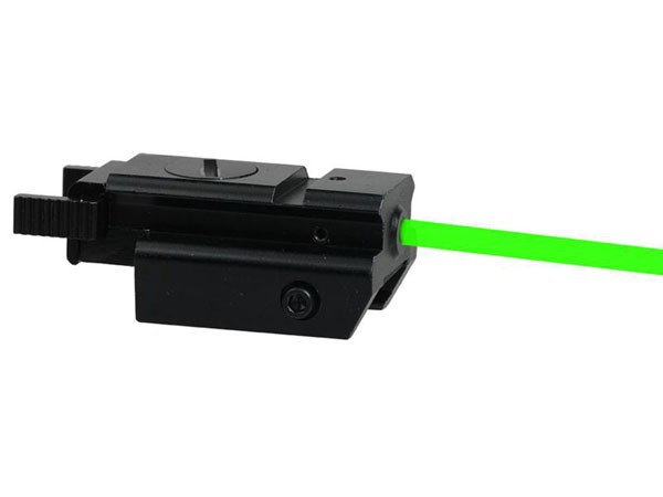 Green Laser Sight with Tail Switch for pistol hand gun airsoft Tactical Compact Pistol Weaver Rail laser scope rifle accessories
