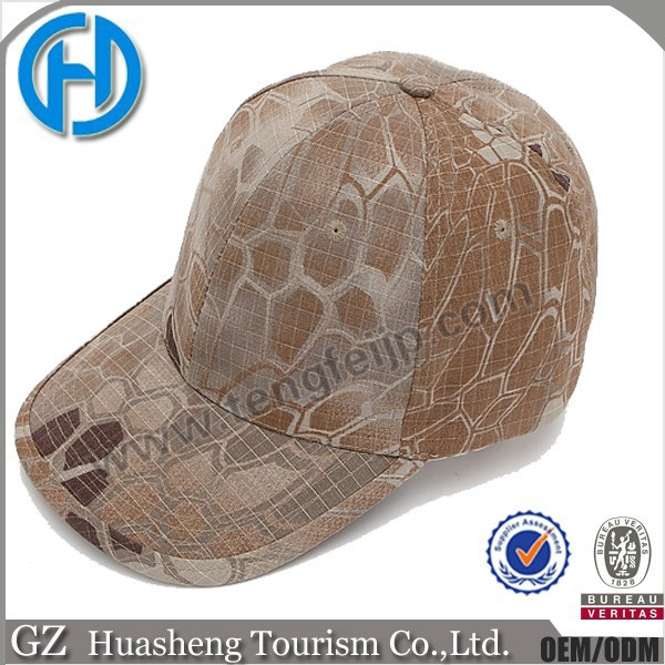 Outdoor cotton US military baseball cap waterproof