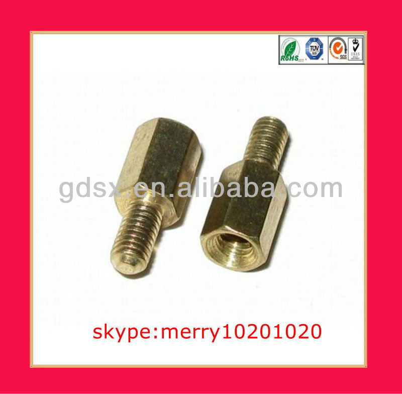 cheap aluminum/brass/ steel standoff fastener,standoff fixing