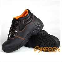 2015 Good Quality cheapest CE PU kickers king power safety shoes, brahma steel toe safety shoes, fire safety shoes SA-1203