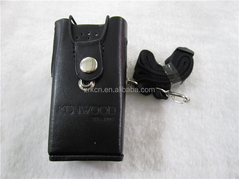 Leather Case for Professional walkie talkie TK3107 two way radio