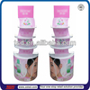 TSD-A041 Custom acrylic cosmetic floor display/cosmetic displays gondola/floor plexiglass display stand