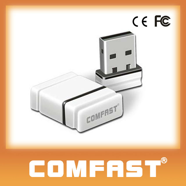 150Mbps Realtek RTL8188 Chipset Mini WIFI USB Adapter/Wireless Lan card Wifi Dongle COMFAST CF-WU810N