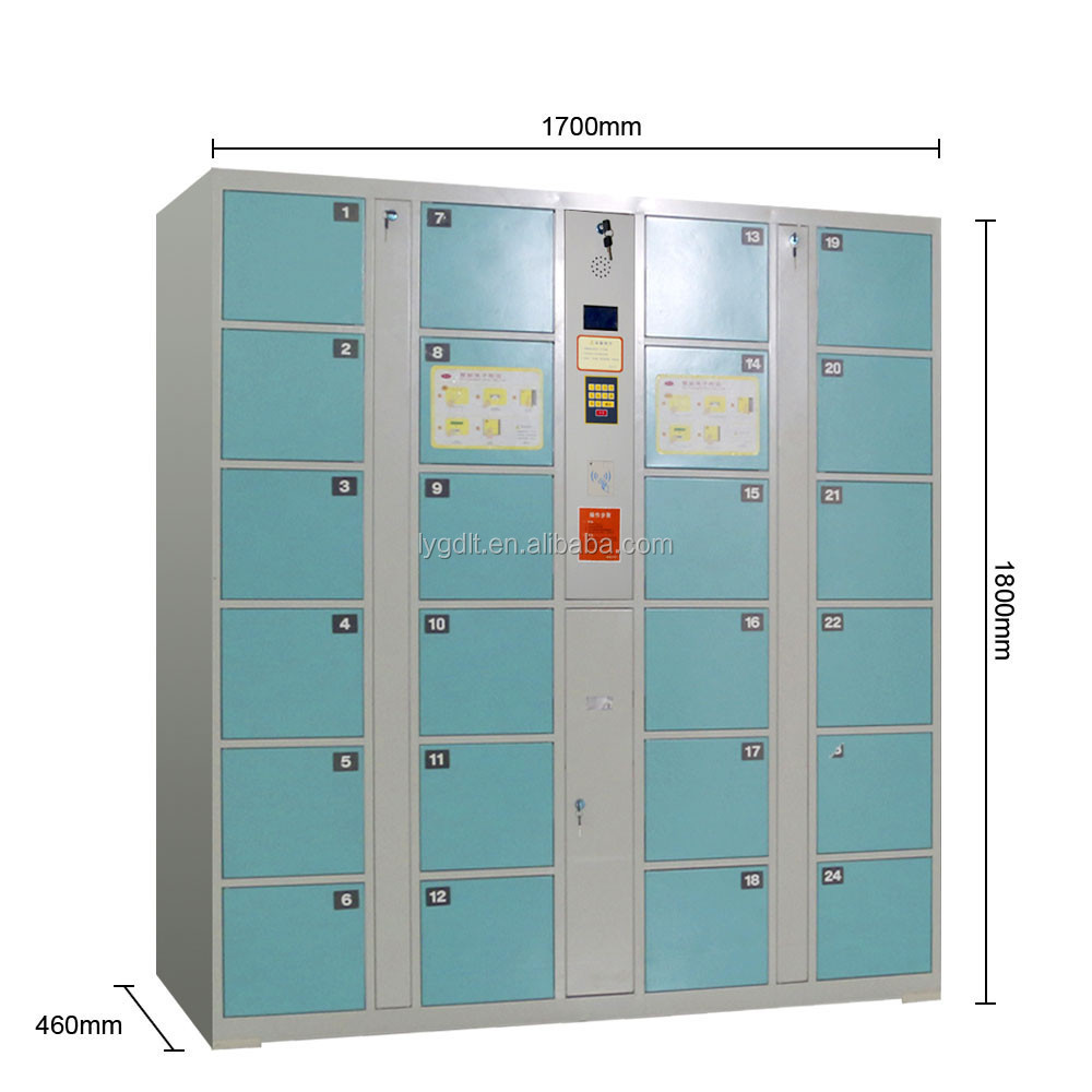 Powder Coating Electronic Systerm Barcode Gym Locker
