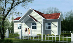 Low cost prefabricated home villa prefab house