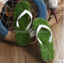 2017 wholesale New Design Couples Slipper Men and Women Imitation Grass Flip Flops Summer slipper