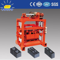 qtj4-40 manual concrete brick plant layout