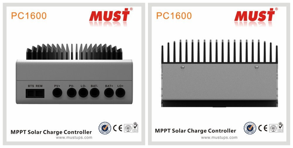 CE certificated 12V 24V 48V auto sensing 45A 60A MPPT solar charge controller