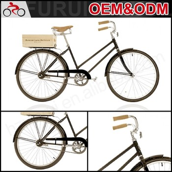 "Hot selling 26"" steel frame city bike frame classic dutch bicycle"