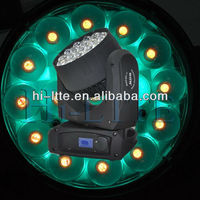 19*10W led zoom light years factory experience high power auto led light
