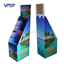 Portable Corrugated Paper Retail Display Racks Manufacturer