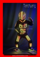 Color Changing LED Light Clothes / Luminous Clothing for Dancer / Flashing LED Clothing Apparel