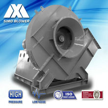 Low noise medium pressure industrial rotary kilns forced draught blower fan