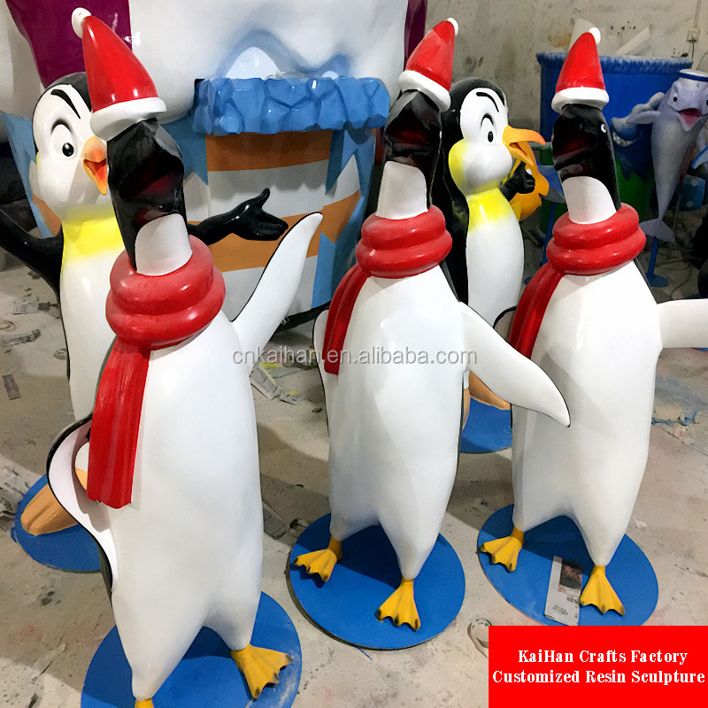 Trade Assurance fiberglass animals of penguin for sale