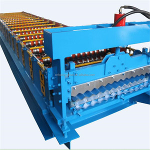 colored steel wall roof panel metal roofing aluminum corrugated steel sheet making cold roll forming machine