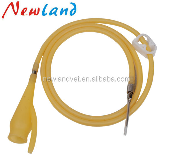 super quality latex veterinary I.V set in veterinary instrument