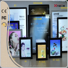 Xingsu CD all kinds of light box,menu board,3d wall panel,advertising frame