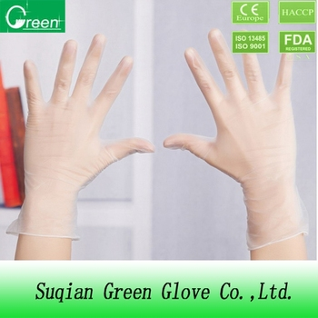 disposable gloves/powder free gloves/vinyl gloves