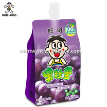 Want Want Grape Juice with Coconut Drinks