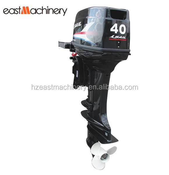 4 stroke marine outboard gasoline engine 40hp for pleasure yacht in New zealand