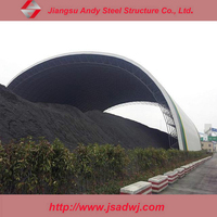 Steel Structure Space Frame Coal Storage Shed for Power Plant