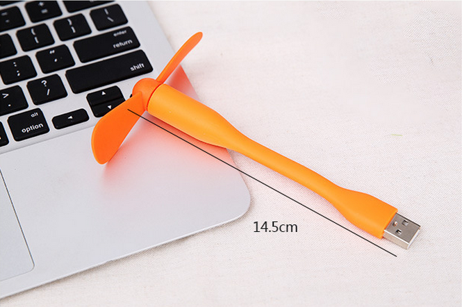 Portable Flexible USB Mini Fan For Computer Laptop Notebook PC Power Bank Hot