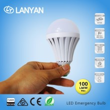 Hot sell 7w Rechargeable Emergency led bulb with backup battery From China factory directly