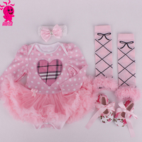 Princess Baby Girl Clothes Lace Ruffle Dress Summer Sleeveless Romper Dress & Headband 2PC Set Infant Birthday Party Dress