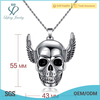 Cool design carved skull pendant,latest simple pendant designs