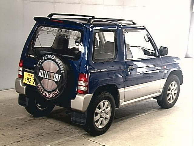 Pajero Mini 660cc, 4x4 used car