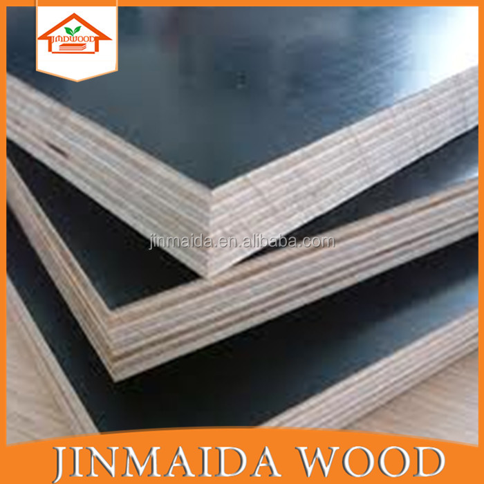 used finger joint brown film faced waterproof plywood for DUBAI