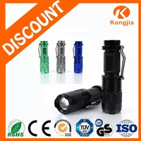 Zoom Portable Rechargeable Aluminium Ultra Bright Torch Led Flashlight T6
