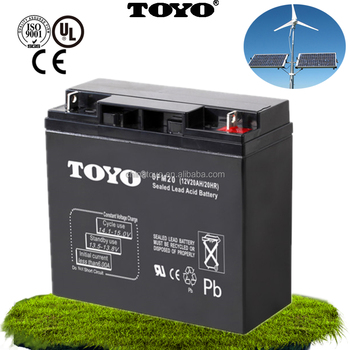 AGM Deep Cycle Gel Industrial inverter Long Life maintenance free Lead Acid Battery For Solar