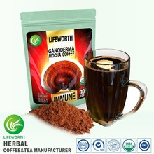 Lifeworth wholesale taste mellow instant reishi mocha coffee with small lot order available