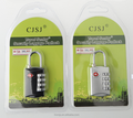 TSA approved lock 4 digit set your own combination padlock in assorted colors