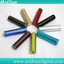 11200mah power bank,tube power bank,power bank charger with charging cable