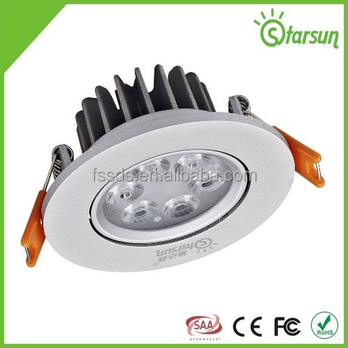 long life time guarantee 6w 8w led vde/ul ceiling light modern