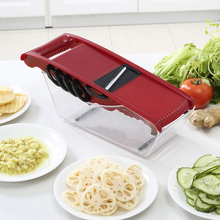 Cheese Grater Stainless Mandoline Slicer With Storage Container