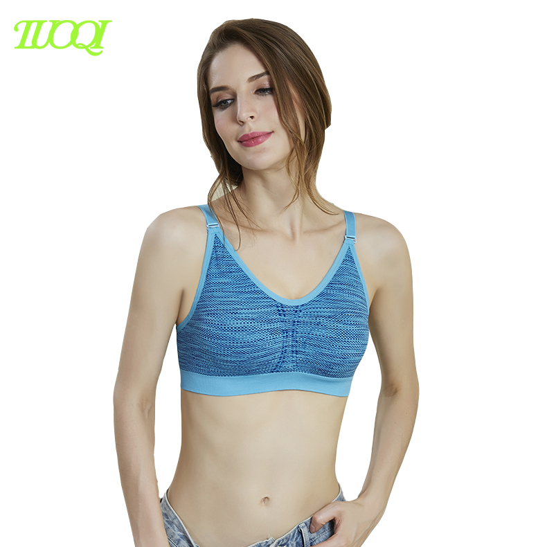 Hot Sexy XXX Seamless Supporting Running Women Sports Bra Picture