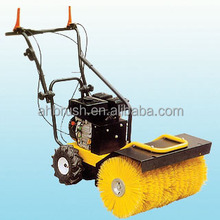 battery lawn bristle broom gas powered broom sweeper battery operated floor cleaning brush