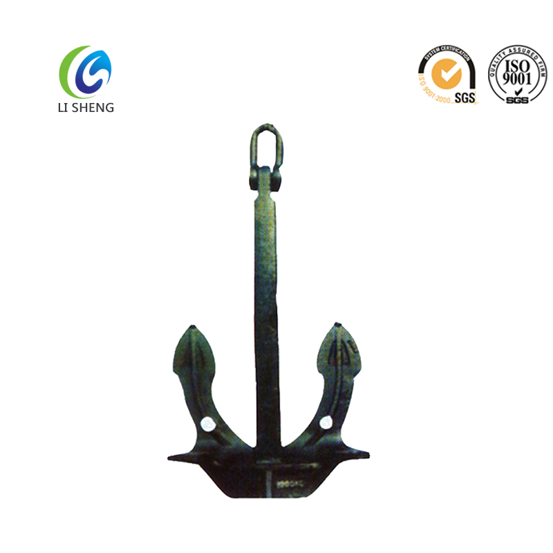 Steel casting Japan stockless boat anchor