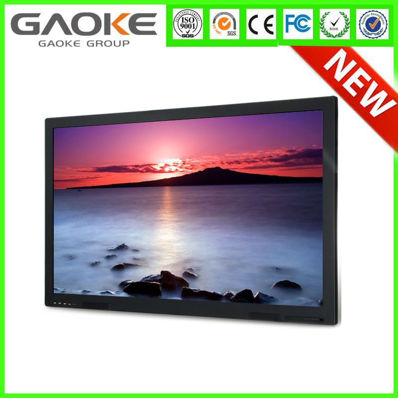 "Gk880T 55"" 65"" 70"" 84"" 98"" lcd/led HD 3d 4k touch screen interactive flat panel pc for classroom"
