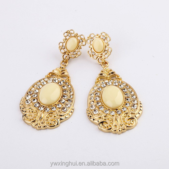 Design your own large gold earrings