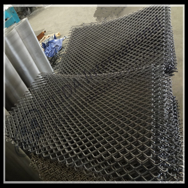 anping low carbon steel expanded metal <strong>mesh</strong> for protection platform(factory ISO9001)
