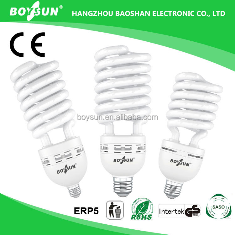 SASO/SAA/ERP5 Compliant 45W 65W 85W 105W 120W 85W Cfl Lamp Energy Saving Bulbs