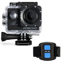 SOOCOO C30 Wifi Ultra HD 2.0 Screen 170/120/90 Angle Adjustable Waterproof Outdoor Sports Action Camera Better than SJ5000X