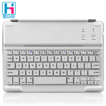 Ultra Thin Aluminum Bluetooth Keyboard Case For iPad Air 2 Magnetic Bluetooth Keyboard With Cover