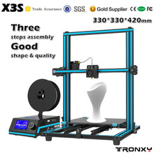 Factory Supply Tronxy 3D digital printing machine with screen for T shirt print